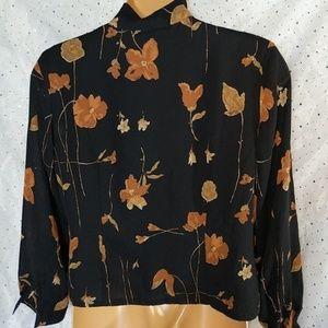 Pendleton Tops - ➕ 14 PENDLETON Vintage Floral Button Up Top